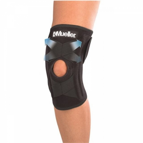 Knie- Bandage/Stütze, selbstkorrigierend, Mueller