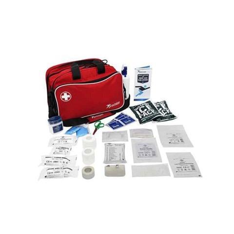 Medizintasche, Erste Hilfe, gefüllt, precision