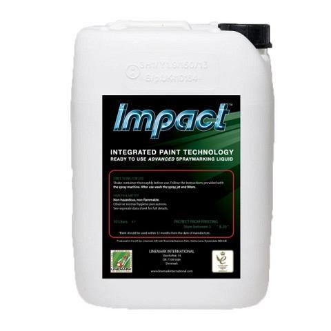 Markierfarbe, Impact, 10 Liter, weiss, LINEMARK