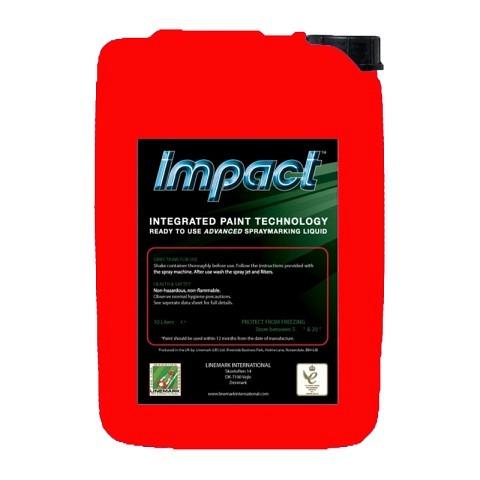 Markierfarbe, Impact, 10 Liter, rot, LINEMARK