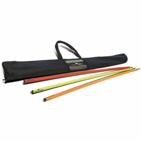 Slalomstangen-Tasche, precision