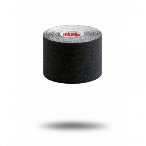 KINESIOLOGY TAPE I-STRIP ROLL, Mueller black