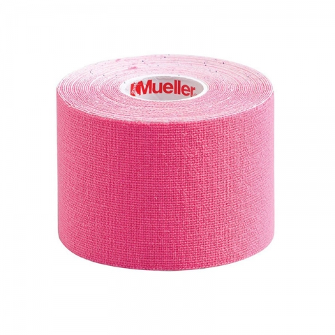 KINESIOLOGY TAPE I-STRIP ROLL, Mueller pink