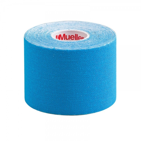 KINESIOLOGY TAPE I-STRIP ROLL, Mueller blue