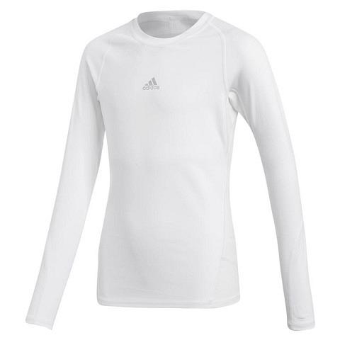 Kompression-Shirt AlphaSkin 360 Tee Kinder, langarm, adidas
