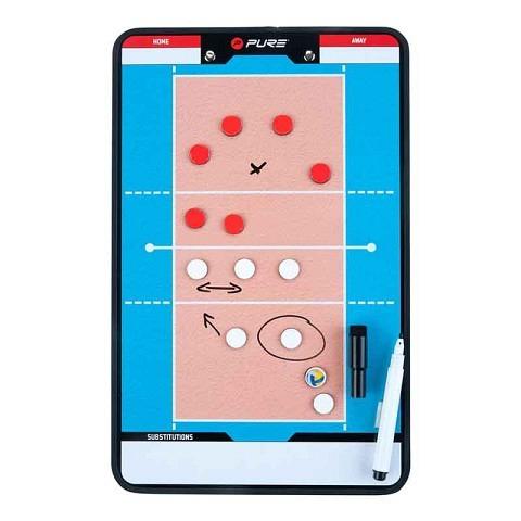 Taktiktafel, doppelseitig, Volleyball, Pure2Improve