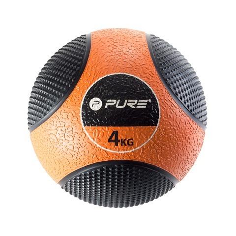 Medizinball, 4 Kg, Pure2Improve