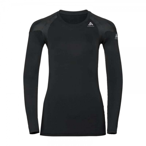 Funktionsunterwäsche langarm Shirt Active Spin Light Damen, Odlo