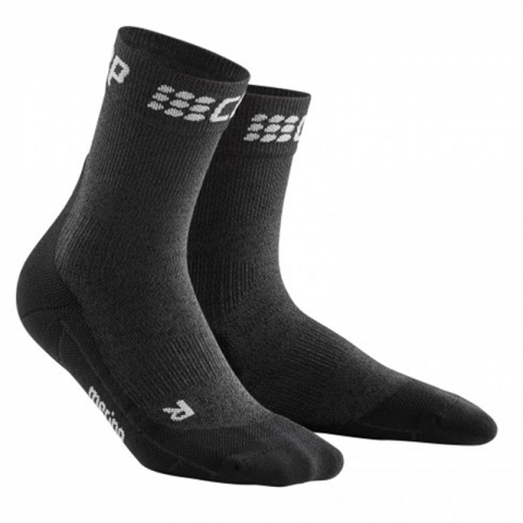 Winter Run Compression Short Socks Men, Cep