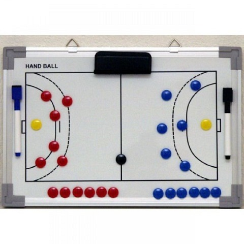 Taktiktafeln & Mappen,  Coach-Board, Professional, Handball, 90 x 60 cm, b+d