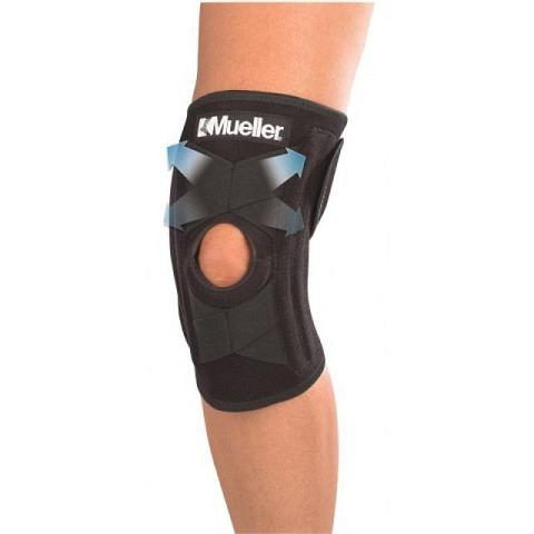 Knie,  Knie- Bandage/Stütze, selbstkorrigierend, Mueller