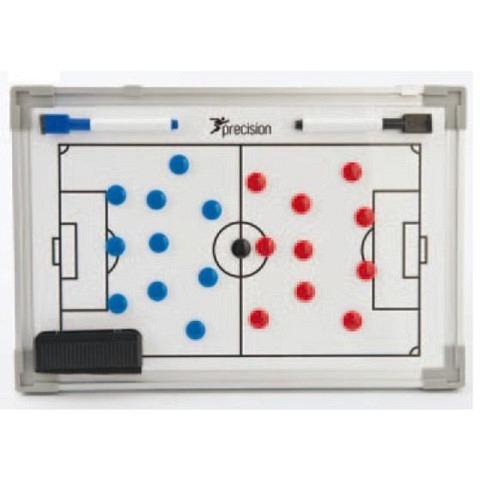 Taktiktafeln & Mappen,  Doppelseitige Fussball-Taktiktafel, 45x30 cm, Precision