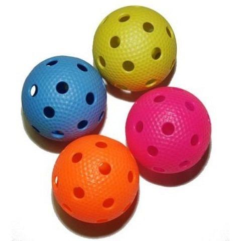 Matchbälle,  Unihockey-Matchball, Aero, farbig, SALMING