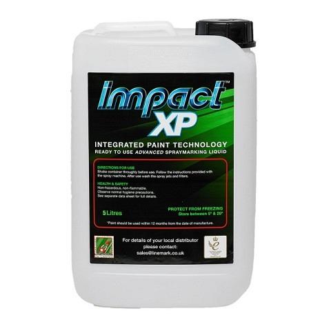 Spritzverdünnt,  Markierfarbe, Impact XP, 10 Liter, weiss, LINEMARK