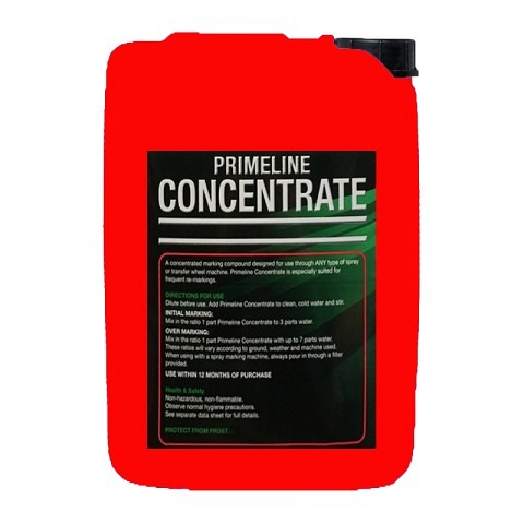 Markierfarben,  Markierfarbe, Primeline Concentrate, 10 Liter, rot, LINEMARK