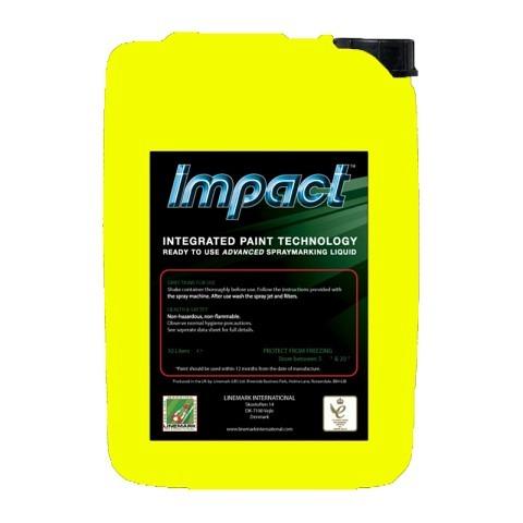 Markierfarben,  Markierfarbe, Impact, 10 Liter, gelb, LINEMARK