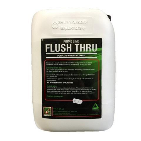 Feldmarkierung-Zubehör,  Reinigungsmittel, Flush Thru, 10 Liter