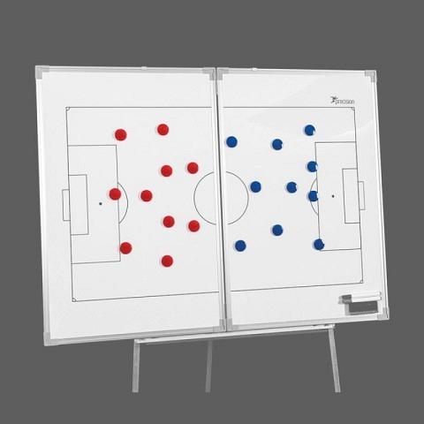 Taktiktafeln & Mappen,  Ersatz-Magnete FUSSBALL, 4cm, precision