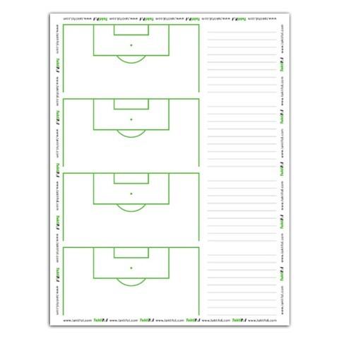 "Taktiktafeln & Mappen,  Fussball-Taktikfolie ""Set Play"", Taktifol"
