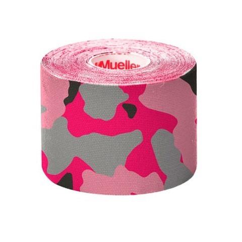 Tapes & Zubehör,  Kinesio Tape, I-Strip, 5 cm x 5 m,  Pink Camo, Mueller