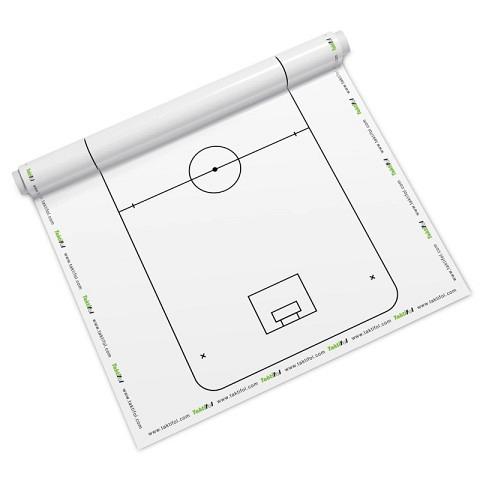 Taktiktafeln & Mappen,  Taktikfolie Unihockey, Taktifol