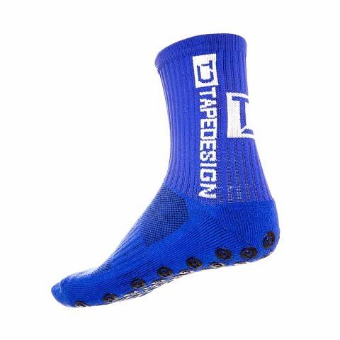 Training-Socken,  Allround Socken, Tape Design blau