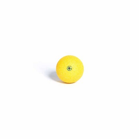 Faszientraining,  Ball 8 cm gelb, Blackroll
