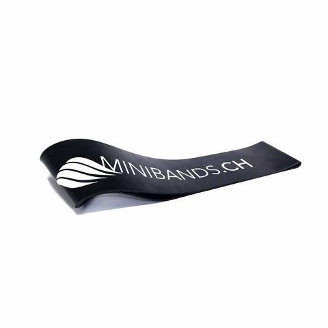 Fitnessbänder,  Miniband Extra Strong Schwarz, Blackroll