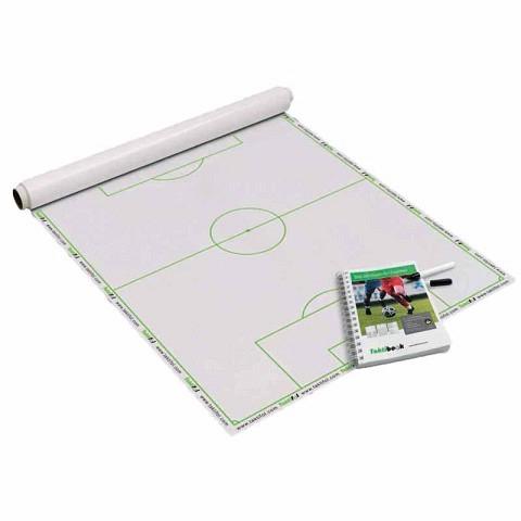 Taktiktafeln & Mappen,  Trainer-Set Fussball, Taktifol