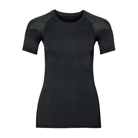 Lauf-Unterwäsche,  Funktionsunterwäsche T-Shirt Active Spin Light Damen, Odlo