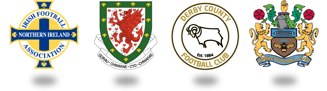 Irish Football Association, Welsh Football Association, Burnley FC, Derby County FC