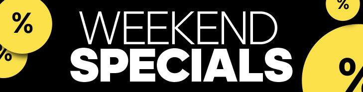 Weekend Specials - lass dich überraschen!