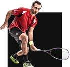 Sportarten-Navigation: Squash